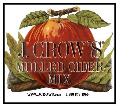 J.Crow's� Mulled Cider Mix